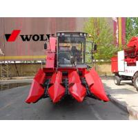 Quality wheel moving type corn combine harvester farm usage wholesale