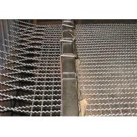 Quality Stainless Steel / Galvanized Crimped Wire Mesh Rectangular Opening for Pig Feeding wholesale