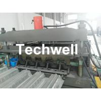 Quality Steel Structure Floor Deck Cold Roll Forming Machine For Galvanized Steel Sheet wholesale