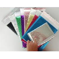 Quality Express Packaging Metallic Bubble Mailing Envelopes Water Resistant Custom Logo wholesale