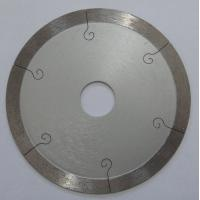 Quality 9 Inch Continuous Rim Saw Blade For Porcelain Tile , 350mm Diamond Cutting Blades wholesale