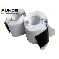 Quality 3 - 15 M Length Butyl Rubber Tape 85 - 105 DMM Penetration Hardness For Sealing wholesale