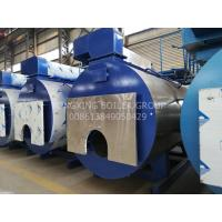 Quality 13 Bar Gas Fired Steam Boiler 3 Pass Horizontal Fire Tube Boiler For Food Processing wholesale