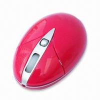 Quality RF Wireless Optical Mouse with 800dpi Resolution, Over 1,000,000 times Buttons Life wholesale