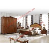 Quality Luxury Design in England Country Style Wooden Bedroom Furniture sets wholesale