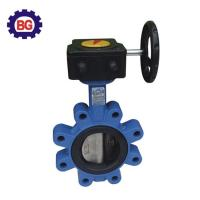 China Factory Direct Sale Cheap Price Lug Type Butterfly Valve with Worm Gear on sale