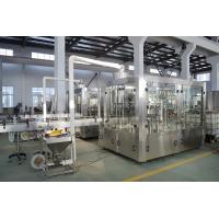 China Stainless Steel Beverage Filling Line 2000-36000BPH For Glass Bottle on sale