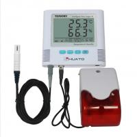 Quality Sound Light Alarm  High Accuracy Temperature Humidity Data Logger HUATO S500-EX wholesale