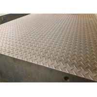 Quality 3*18m 100T Aluminium Checker Plate Sheet Surface Mounted With Steel Ramp wholesale