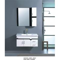 Cheap PVC wall hanging bathroom vanity wall mounted 100 X 48 / cm Square Type for sale