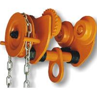Quality GCL 610 Geared Trolley of Manual Chain Hoist For Shipyards To Install Machines , Lifting Good wholesale