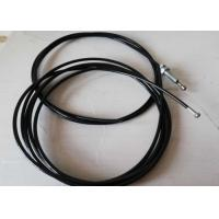 China RAPID Gym Equipment Parts , Black Plastic Wire Rope For Gym Equipment on sale
