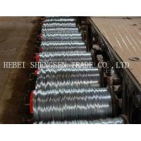 Quality Mini Coil Electro Galvanized Wire , Galvanized Binding Wire For Supermarket Daily Use wholesale