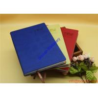 China promotional gift PU leather composition notebook on sale