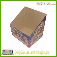 Quality good quality cheap price display paper box for supermarket wholesale
