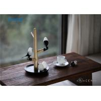 Quality Smart sensor touch bedside modern office wooden rechargeable fency hotel led desk light table lamp wholesale