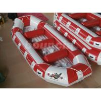 Quality Fun Inflatable Raft Boat Inflatable River Rafts With Durable Base wholesale