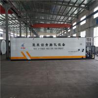Quality Hot Exhaust Heating Bitumen Melting Machine Durable With Bag Crane Lifting wholesale