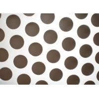 Buy cheap 0.5mm Thickness Perforated Metal Mesh 304 /316 Stainless Steel Material from wholesalers