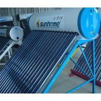 China Vacuum tube solar water heater on sale