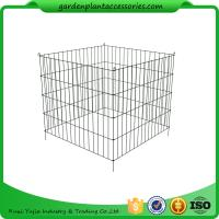 Quality Single Bin Wire Composter Heavy - Gauge , Powder - Coated Steel Wire wholesale