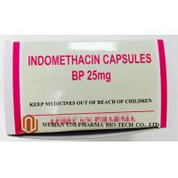 Quality Indomethacin 25 Mg Capsule Finished Medicine , Rheumatoid Arthritis Treatment Pain Killer Medicine wholesale