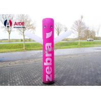Cheap Outdoor Inflatable Advertising Blow Up Man Post Lamp Inflatable Pillar Shape for sale