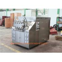 Quality CIP homogenizer Ice Cream Homogenizing Machine   hydraulic mode 75 KW wholesale