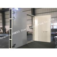 Quality Explosion Proof Steel Framed Blast Door Industrial Garage Doors For Governments And Banks wholesale