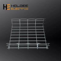 China flexible cable tray forming machine, stainless steel cable tray former/ wire mesh cable tray making machine on sale