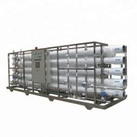 Quality RO Reverse Osmosis Drinking Water Treatment Machine 8000Liter Per Hour wholesale