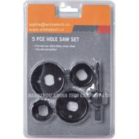 Quality 1-1/4 In - 2-1/8 In Carbon Steel Hole Saw Set (5-Piece) wholesale