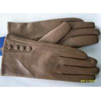 Quality Lady′s Leather Gloves with Four Buttons (BL1015) wholesale