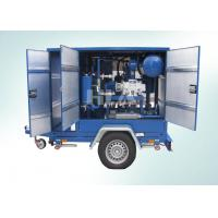 Quality Low Operating CostTransformer Mobile Oil Purifier With Siemens PLC Auto Control System wholesale