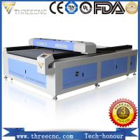 China High precision high speed cnc co2 laser cutting for wood TL1325-100W. THREECNC on sale