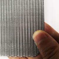 Quality SS 316L Twill Weave Industrial Filter For Mining / Chemical / Food Industry wholesale