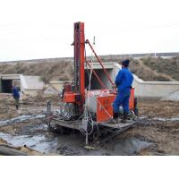 Quality Single , Double Pipe Crawler Drilling For Jet - Grouting Full Hydraulic wholesale