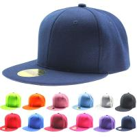 Quality Spandex Cotton Fitted Snapback Baseball Caps For Men / Women Sublimating Label Available wholesale