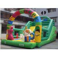 China Pista Shrek Commercial Inflatable Slide With Durable Plato PVC Tarpaulin on sale