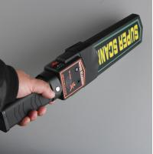 Quality Light / Voice Alarm Walk Through Metal Detector , Hand Held Metal Detector Wand wholesale