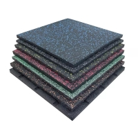 Quality Outdoor Playground / Indoor Safety Rubber Floor Mats Multi Colors Optional wholesale