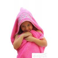 Quality OEM Welcome Durable Hooded Poncho Beach Towels Skin Friendly Soft wholesale