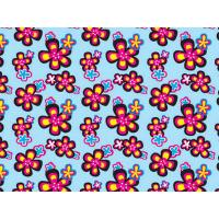 China Printed Coated Polyester Fabric For Luggage , PVC Polyester Fabric on sale