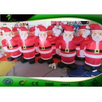 China Cute Christmas Santa Claus Inflatable Holiday Decorations / Airblown Christmas Model on sale