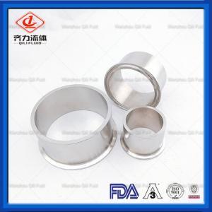 China Stainless Steel  Sanitary Clamp Fittings Heavy Duty  Tank Ferrule 14MPW on sale