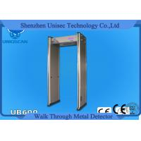 Quality 12/18 Zone Walk Through Full Body Metal Detector Door Security Devices With 4.3 Inch LCD wholesale