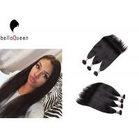 China Straight Full Cuticle Grade 7A Virgin Hair Can Be Ironed And Restyled on sale