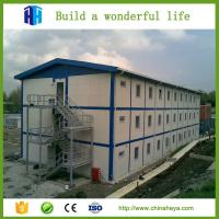 Quality Low cost light steel frame prefab camp construction site accommodation house wholesale