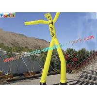 China ODM rip-stop nylon parachute material Blow up Advertising Man Inflatable Air Dancer on sale