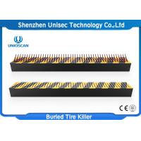 Quality Uniqscan High Security Buried Parking Lot Tire Spikes / Spike Strips For Cars wholesale